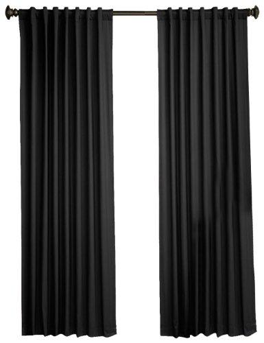 1888 Mills Devon  50 Inch By 63 Inch Single Foam Backed Panel  Black
