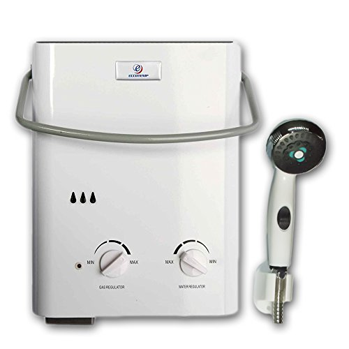 Eccotemp L5 Portable Tankless Water Heater and Outdoor Shower (Electric Barn Heater compare prices)