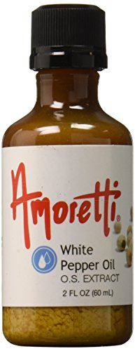 Amoretti White Pepper Oil Extract, 2 Fluid Ounce