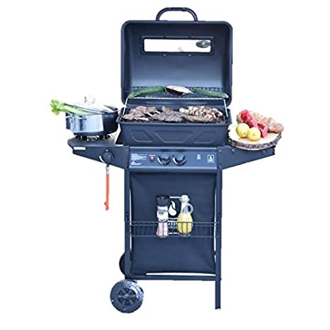 Amazon.com: Activa Lava stone gas grill 5.5 KW + side burner 2.5 KW: Garden & Outdoor