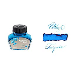Pelikan 30 Ml Bottle 4001 Fountain Pen Ink, Turquoise