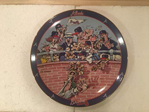 Atlanta Braves Home Run Danbury Mint Gary Patterson Plate