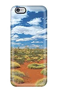 8154050K57250548 Durable Old Spinifex Rings Little Sandy Desert Australia Back Case/cover For Iphone 6 Plus