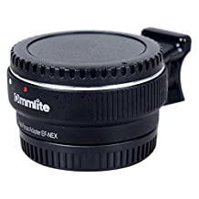 Auto Focus EF-NEX EF-EMOUNT FX Lens Mount Adapter for Canon EF EF-S Lens to Sony E Mount NEX 3/3N/5N/5R/7/A7 A7R Full Frame Black