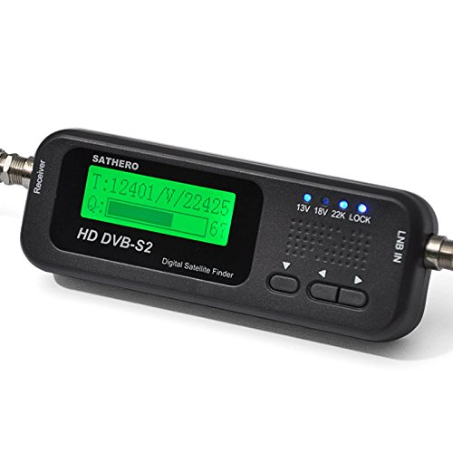 USB 2.0 Sathero SH-100HD Digital Satellite Signal Finder Meter HD with DVB S2