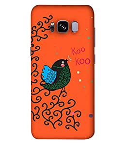 ColorKing Samsung S8 Case Shell Cover - Bird Kookoo Multi Color