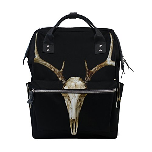 ALAZA European Deer Head Fashion Diaper Bags Mummy Backpack