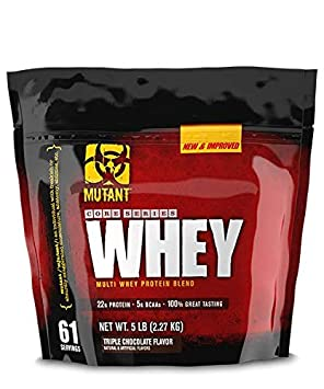 Mutant Whey - Triple Chocolate - 5 Lbs Supplements Shakers at amazon