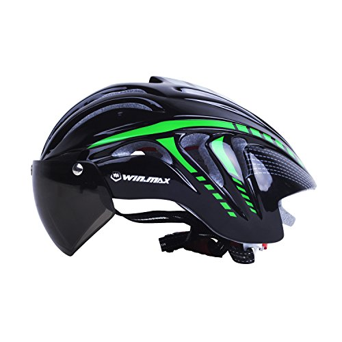 Specialized-Cycling-Helmet-with-Detachable-Magnetic-Visor-Builtin-Helmet-Safety-Padding-Cap-Head-Circumference-Adjuster