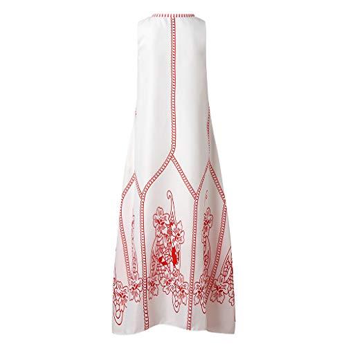 Pengy Women Bohemian Plus Size Vintage Dress V
