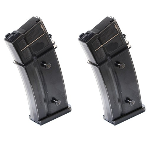 Airsoft Shooting Gear ARMY 2pcs 30rd Mag Gas Magazine For R36 WE G39 G39C GBB by Airsoft Shopping Mall