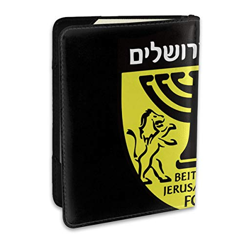 Beitar Jerusalem FC Personalized Fashion Leather Passport Holder Covers Case Travel Wallet 6.5 In For Women Men