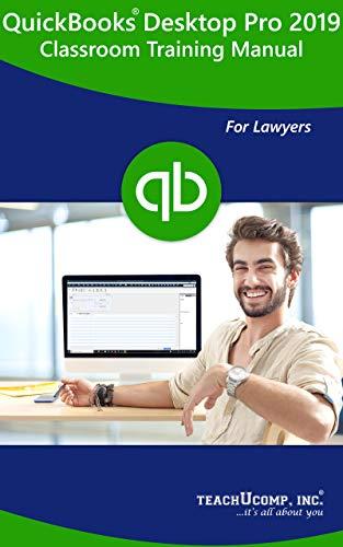 Amazon com: QuickBooks Pro 2019 for Lawyers Training Manual