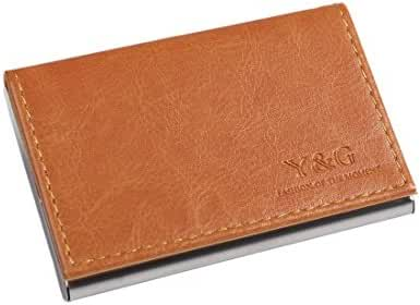 YDC05 Best Business Card Holder Leather Card Case Excellent Designer By Y&G