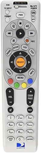 DIRECTV Rc66 Universal Ir Remote Control Replaces Rc65 H24 Hr24 H25 R16 D12