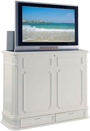 Mueble Elevador de TV Extra Grande para Pantallas Planas de 40 – 52 Pulgadas (Blanco): Amazon.es: Juguetes y juegos