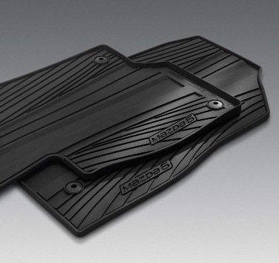 MAZDA 6 SKYACTIV 2014 NEW OEM SET OF FOUR ALL WEATHER FLOOR MATS 0000-8B-H70 by Mazda (Image #1)