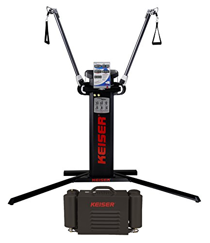 Keiser Functional Trainer with Air Compressor Free standing Base