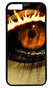 Eyes Art Thanksgiving Halloween Masterpiece Limited Design PC Black Case for iphone 6 by Cases & Mousepads