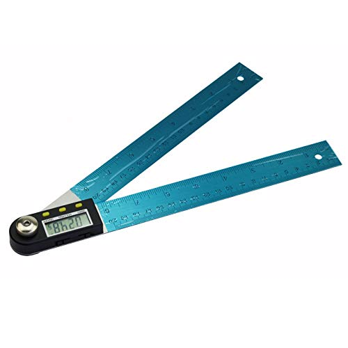 TuToy 200/300/500Mm 12 Inch Digital Angle Ruler Finder Meter Protractor Inclinometer Goniometer Electronic Angle Gauge - 500Mm