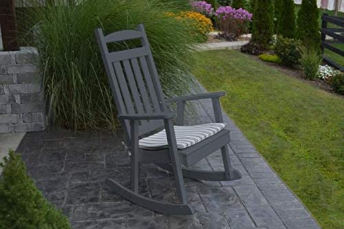 A L Furniture Company Classic Recycled Plastic Porch Rocking Chair – Lead TIME to Ship 3 Weeks
