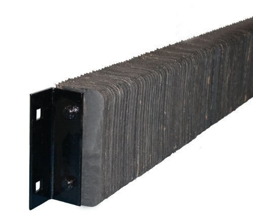 Durable-Corporation-Extra-Length-Rubber-Dock-Bumper-Rectangular-Laminated-Horizontal-Mount-4-Holes-89-Length-6-Width-4-12-Depth-87-Center-to-Center-Hole