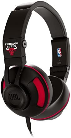 JBL S300 Chicago Bulls Premium On-Ear Stereo Headphones with Universal Remote