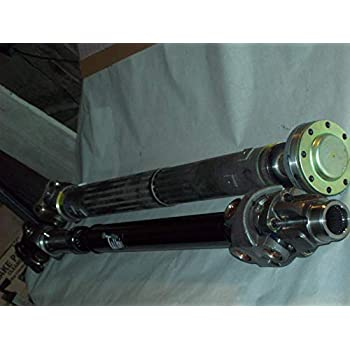 CUSTOM BUILT to your Jeep by ADAMS DRIVESHAFT 36, Extreme Duty Solid U-Joints 2007-2018 Jeep Wrangler JK//JKU UPGRADED 1310 Double Cardan Font Driveshaft