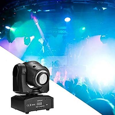Iluminación de escena LED RGB luz discoteca, proyector Spotlight ...