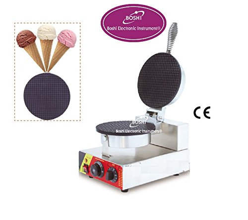 Boshi Electronic Instrument? NP-601 110V/220V Single Head Cone Waffle Machine Ice Cream Cone Maker Waffle Toaster Waffeleisen