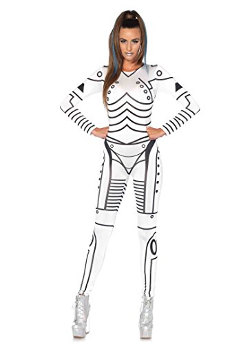 1 PC. Leg Avenue Ladies Killer Robot Catsuit