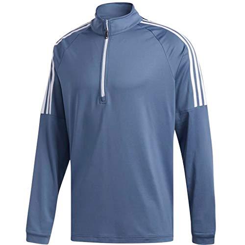 adidas Golf 2018 Mens 3-Stripes ¼ Zip Golf Sweatshirt Tech
