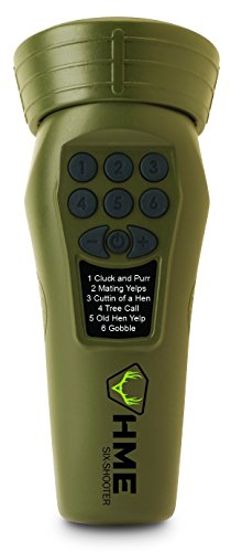 HME Products Electronic Turkey Call- Six Shooter