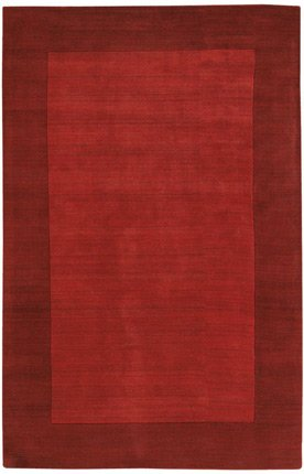 Chandra Rugs JAI18952-57 Jaipur 5' x 7' Rectangle Wool Hand Tufted Transitional, Red