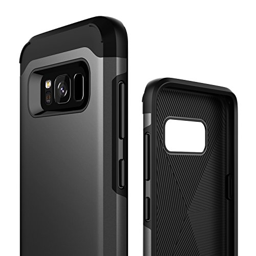 Galaxy S8 Plus Case, Caseology [Legion Series] Heavy Duty Drop Protection Defense Shield [Gunmetal] [Elite Armor] for Samsung Galaxy S8+ Plus (2017)