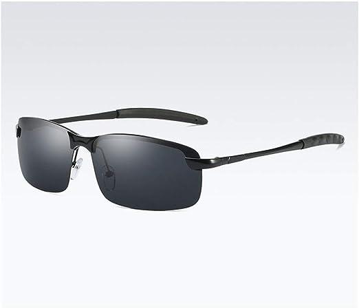 Gafas de Sol clásicas, Marco for Hombre Gafas de Sol polarizadas ...