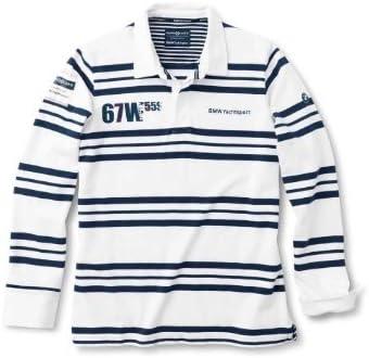 BMW Original Azul Oscuro Yachting Camiseta de rugby para ...