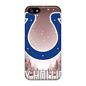 KellyLast Iphone 5/5s Anti-Scratch Hard Phone Case Allow Personal Design Stylish Indianapolis Colts Image [CPf16352ySEO]