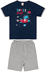 Conjunto Camiseta + Bermuda Em Moletom Leve, Marisol Play, Meninos