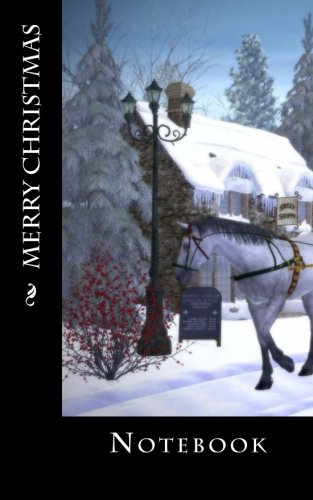 Merry Christmas: Notebook, 150 lined pages, softcover, 5