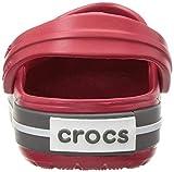 Crocs Kids' Crocband Clog, Pepper/Graphite, 9 Toddler