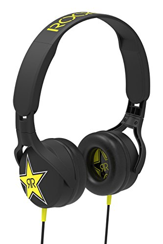 - SCOSCHE Rockstar Edition On-Ear Lightweight Wired Headphones with Swiveling Earmuffs and Extremely Soft Ear Cushions - Black (SHPRS1)