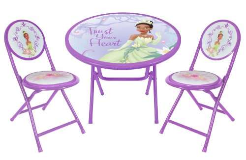 Disney - Princess And The Frog Round Table And Chair Set: Amazon.ca ...