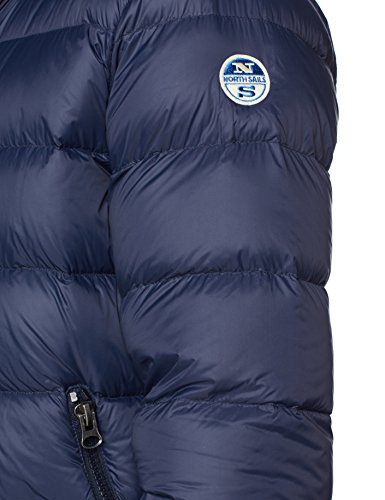 0800 Jkt Sails Blu Cappotto Hooded North Uomo navy H0P4qww