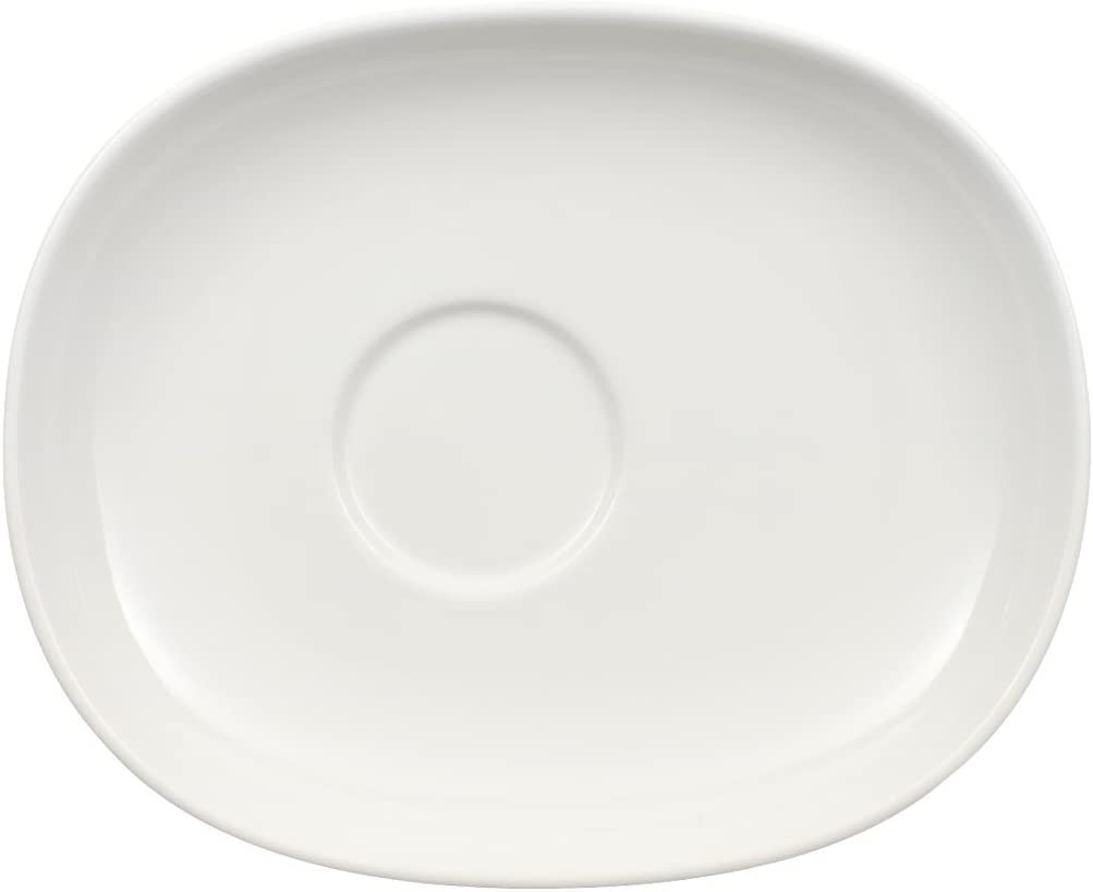 Villeroy Boch Urban Nature Saucer 16 5 X 13 5 Cm Premium Porcelain White Amazon Co Uk Kitchen Home