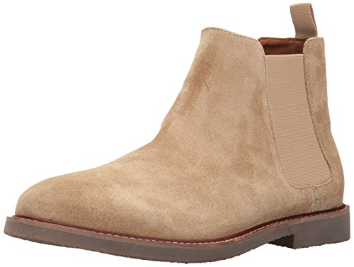 Steve Madden Men's Highline Chelsea Boot, Sand Suede, 12 US/US Size Conversion M US by Steve Madden