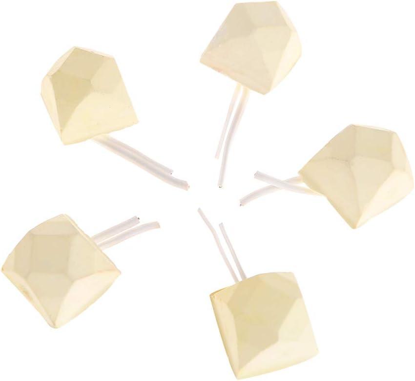 Lazder - Juego de 5 Piezas de Piedras de Calcio para moler Dientes, hámster, Ardilla, Chinchilla, cobaya, Juguetes, Forma geométrica, Suministros para Loros de Mascotas pequeñas