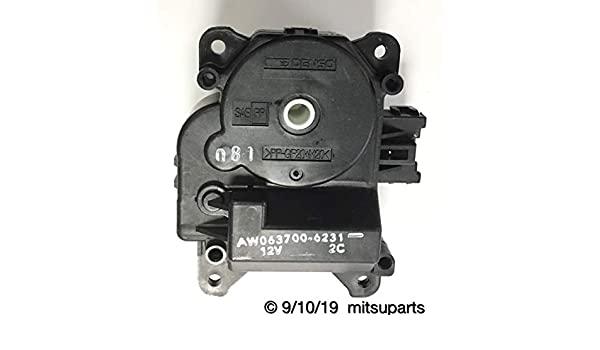 Genuine Mitsubishi Heater Core With Actuator and Valve 2004-2011  Endeavor