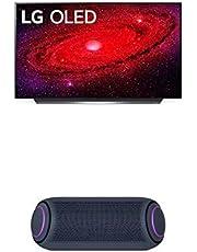 "$1623 » LG OLED48CXPUB Alexa Built-in CX 48"" 4K Smart OLED TV (2020) w/ PL7 XBOOM Go Water-Resistant Wireless Bluetooth Party Speaker"