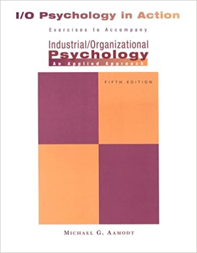 Industrial Psychology Pdf Aamodt